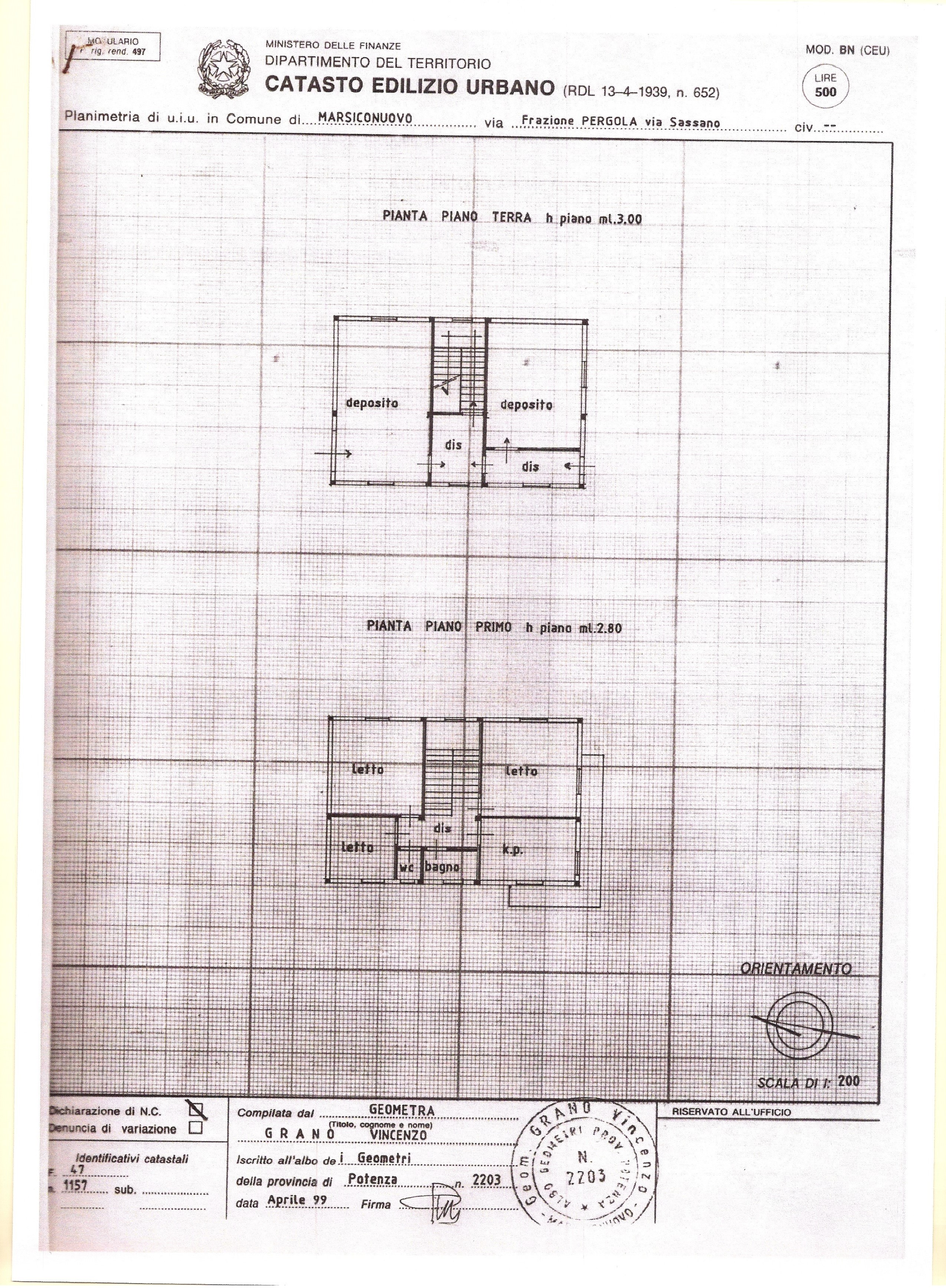 Piano terra deposito bacheca immobiliare for Piano di deposito